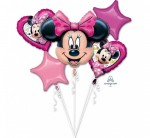 "Balon foliowy Bukiet ""Minnie Happy Birthday"""