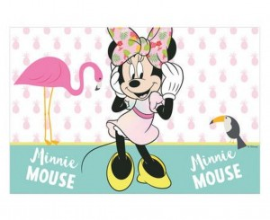 "Obrus plastikowy ""Minnie Tropical Disney"" - 120 x 180 cm"