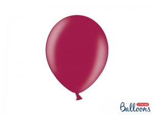 Balon strong metallic maroon