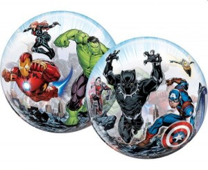 Balon bubble AVENGERS z helem